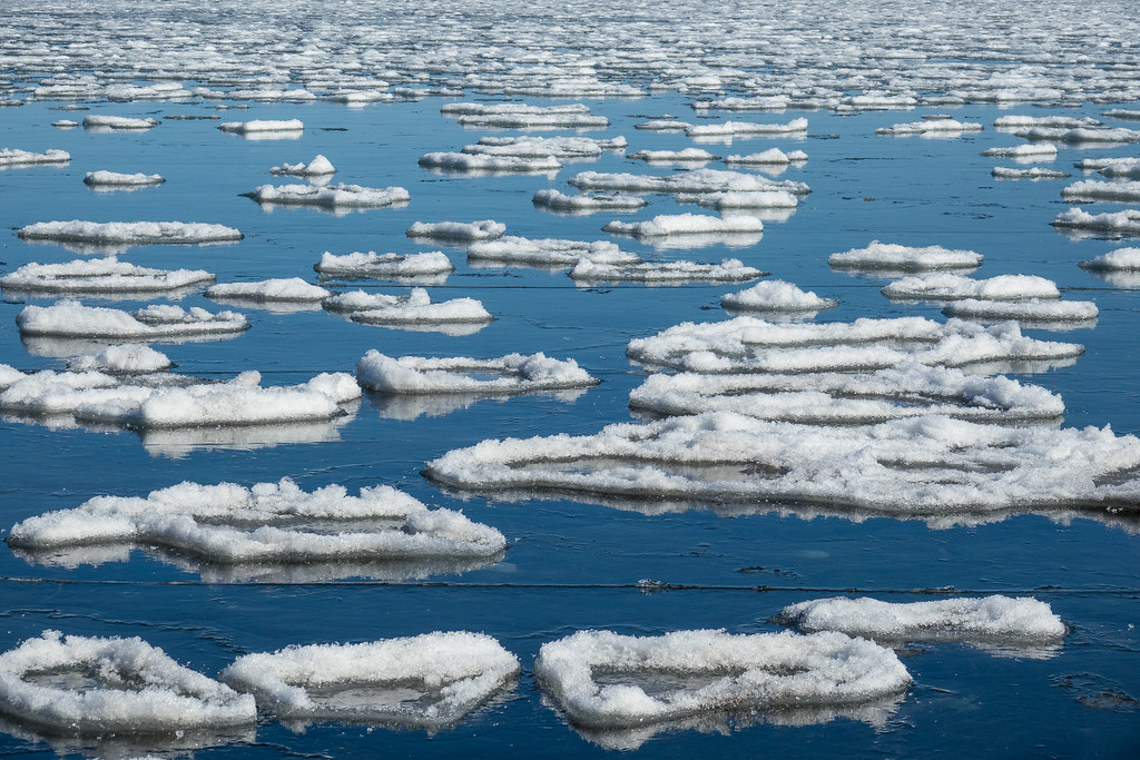 """""""Spring Ice on Chicago Bay"""""""