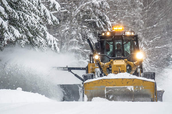 """Plowing the Arrowhead Trail"""