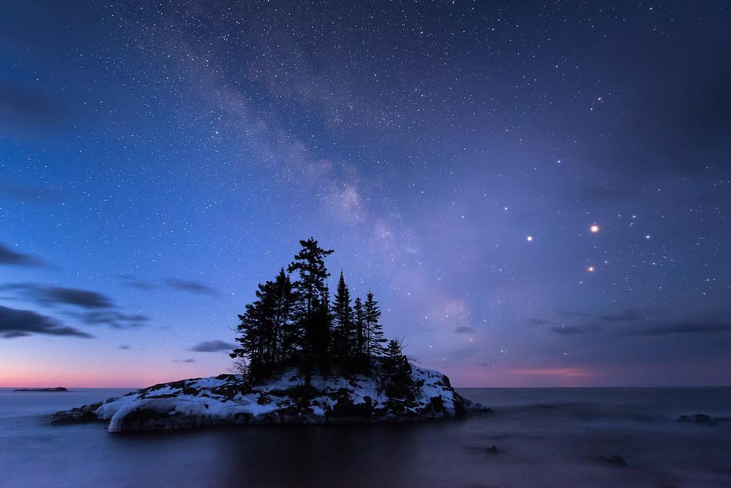"""MILKY WAY 7398<br /> <br /> """"Island Universe"""""""
