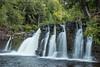 "MICHIGAN 2337<br /> <br /> ""Manabezho Falls""<br /> <br /> Presque Isle River - Porcupine Mountains Wilderness State Park"