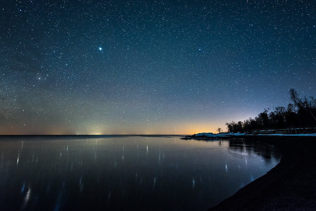 """""""Tranquil Night on Lake Superior"""""""