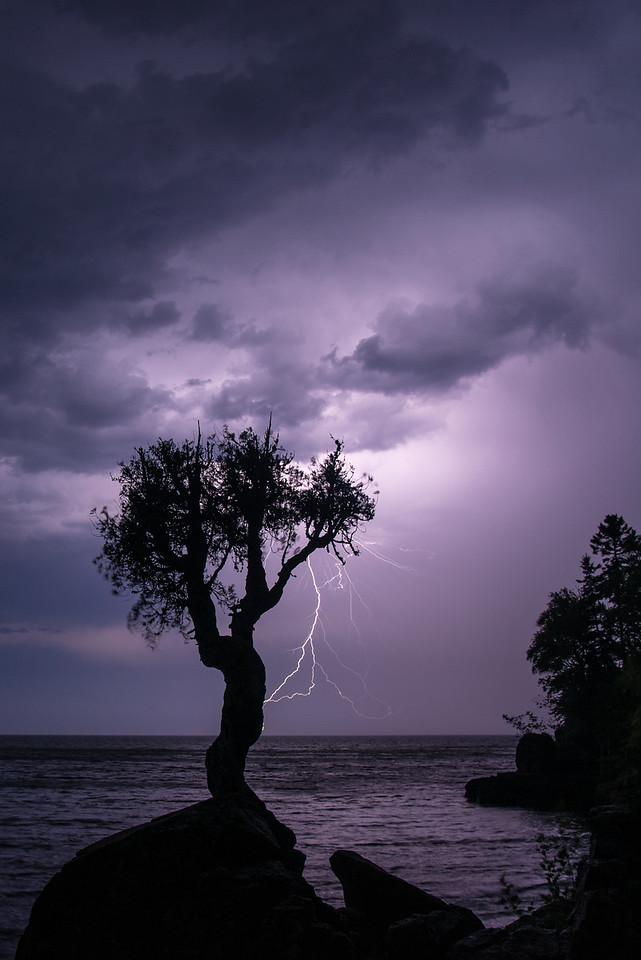 "LIGHTNING 8593<br /> <br /> ""June Thunderstorm""<br /> <br /> Thunderstorm on June 19, 2016"