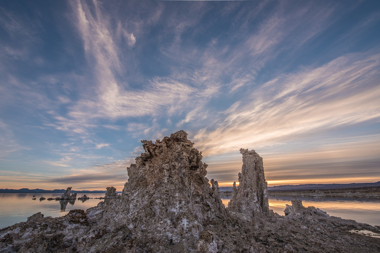 "CALIFORNIA 2100<br /> <br /> ""Mono Lake Morning""<br /> <br /> Mono Lake Tufa State Natural Reserve"