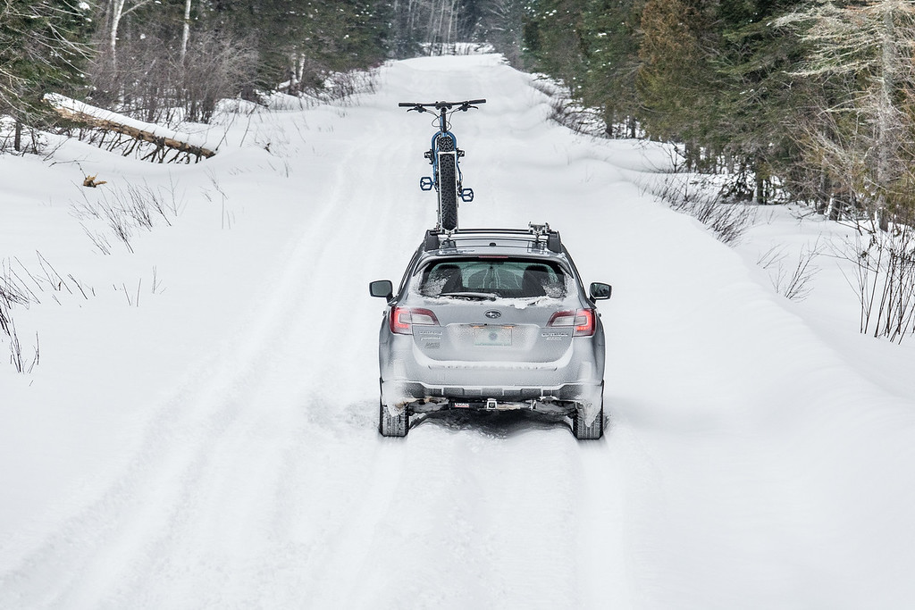 """BIKING 00583<br /> <br /> """"In search of new routes to ride...""""<br /> <br /> Grand Portage, MN"""