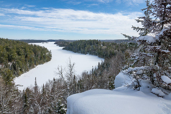 """""""February Afternoon on West Bearskin"""""""
