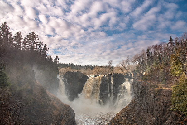 """Spring Evening at High Falls"""