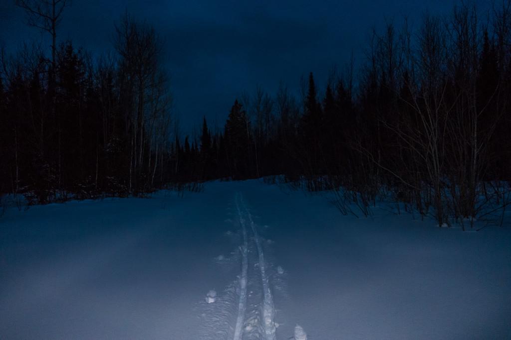 "CROSS COUNTRY SKI 05381<br /> <br /> ""Night Ski""<br /> <br /> Grand Portage, MN"