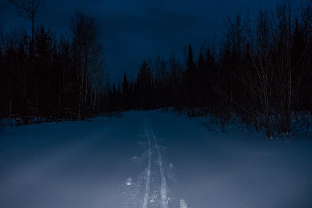 "CROSS COUNTRY SKI 05381<br /> <br /> ""Night Ski""<br /> <br /> Grand Portage, MN"