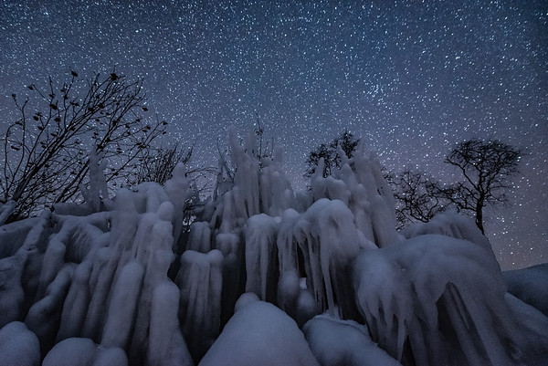 """""""Stars over the Ice Fortress"""""""