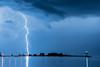 """LIGHTNING 9048<br /> <br /> """"Harbor Lightning""""<br /> <br /> Grand Marais, MN"""