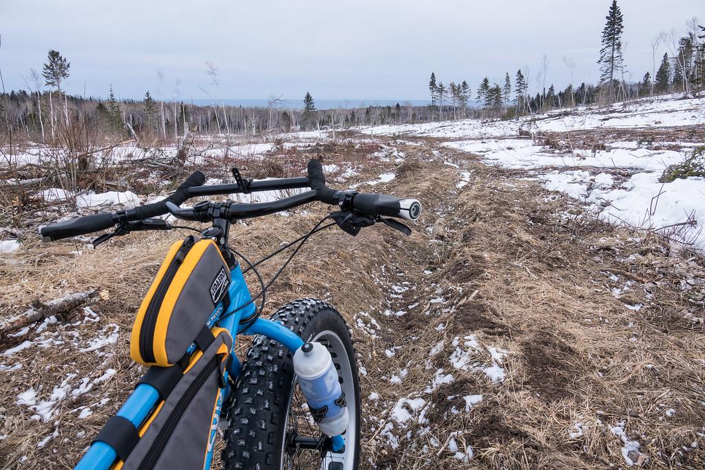 """Spring Ride, Exploring the logging areas"""