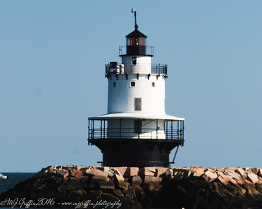 Spring Point Ledge Light in Portland, Maine.