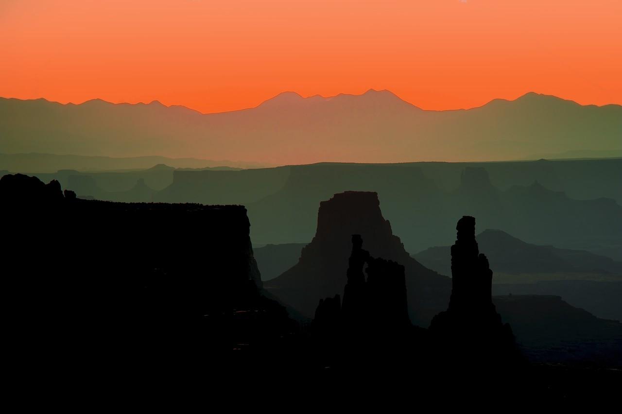 Canyonlands - from Mesa Arch [Tonal Recession]