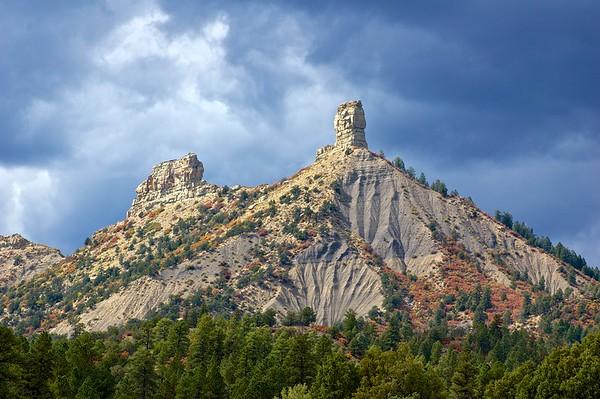 Chimney Rock Erosion