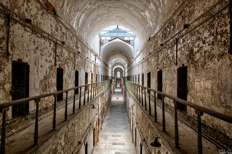 Cell Block 7 | Eastern State Penitentiary Historic Site, Philadelphia, PA