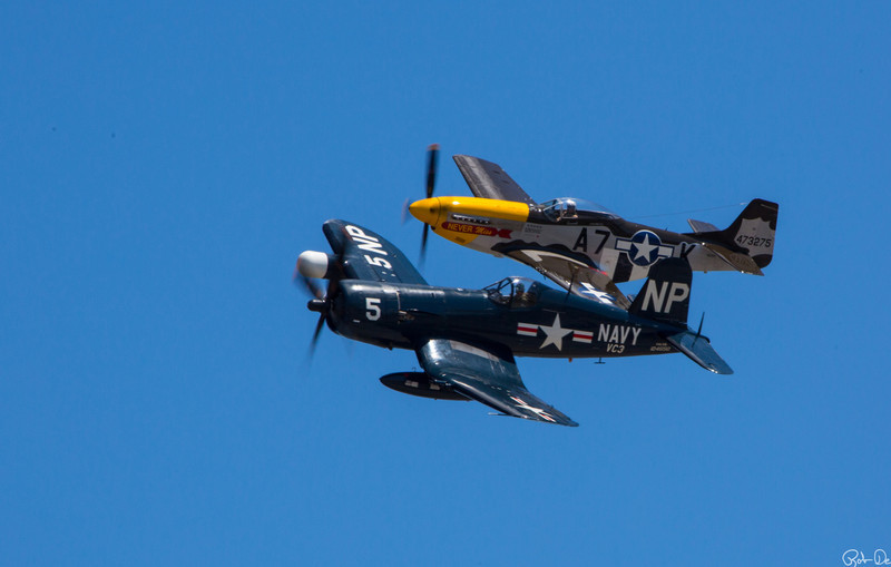 Never Miss and F4U Corsair |