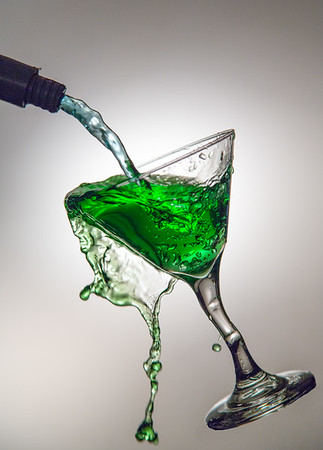 Elphaba: The Floating Green Martini |