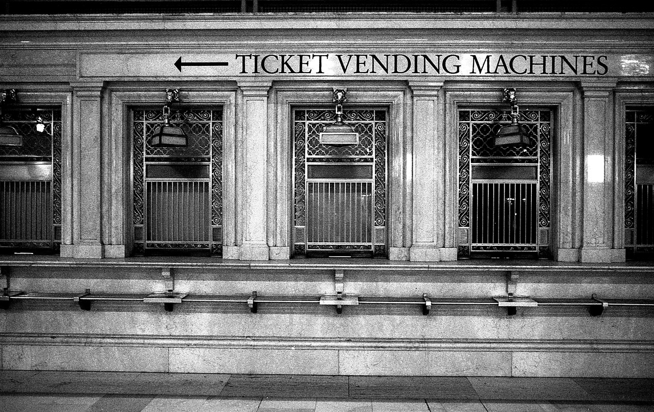 Grand Central Ticket WIndows