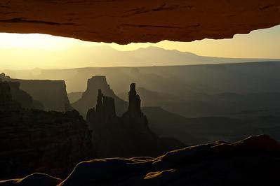 Mesa Arch Recession
