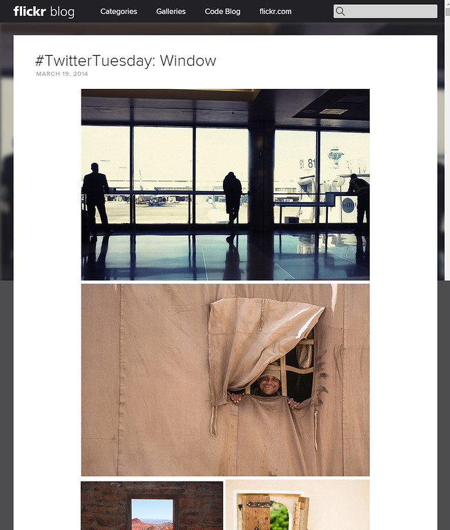 #TwitterTuesday: Window