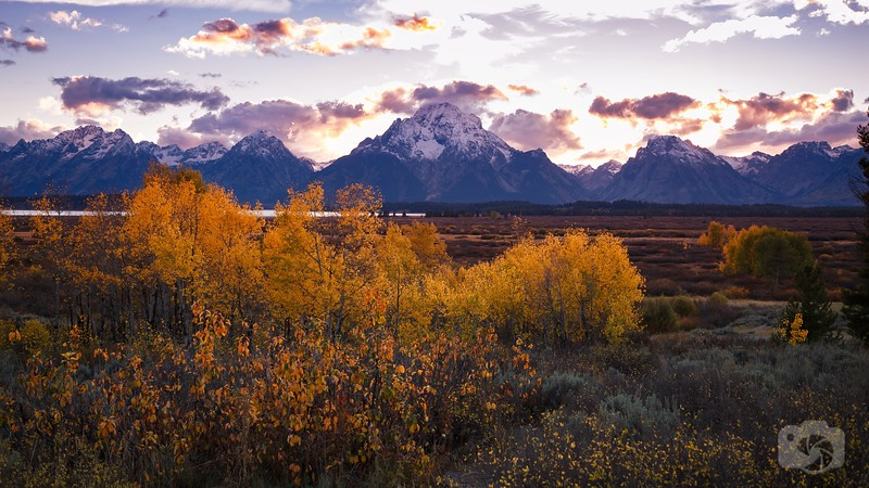 Autumn at the Tetons