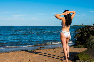 Natalia Bonilla Beach Shoot