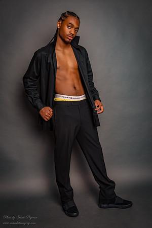 Yache Kinsale's photo shoot