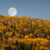 Harvest Moon over Fish Lake