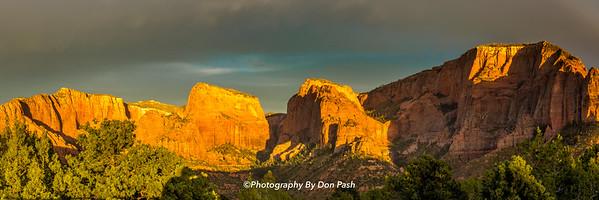 Kalob canyons Panoramic
