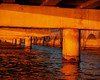 Under the Bridge at Sunset<br /> Jackie Murgio