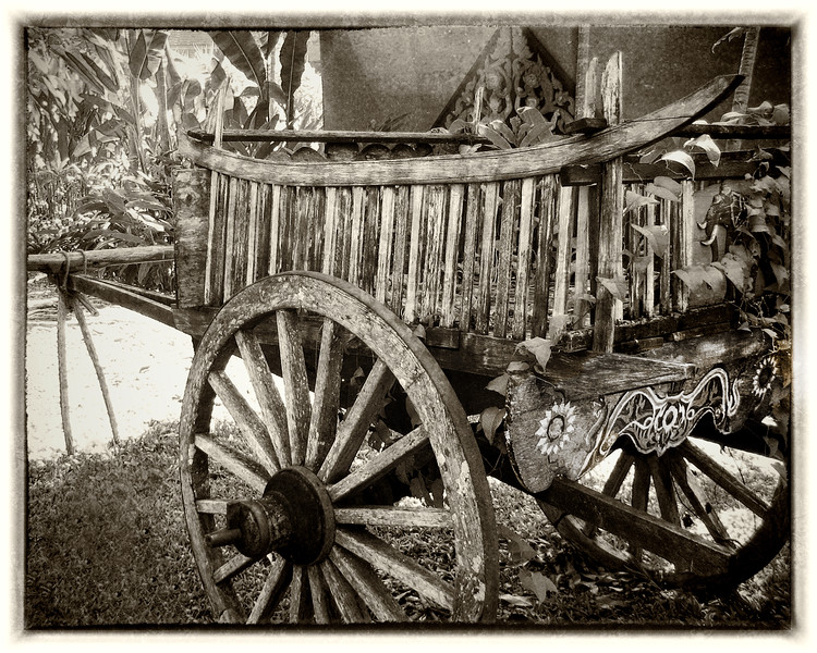 Cambodian Wagon - Norman Levy