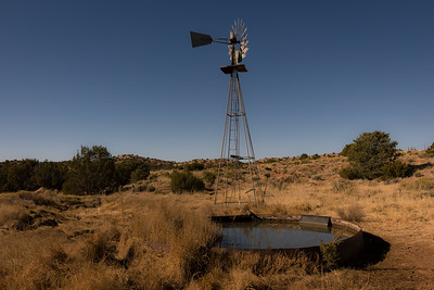 Windmill and Tank