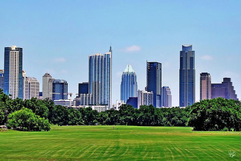 Austin Skyline June 2010