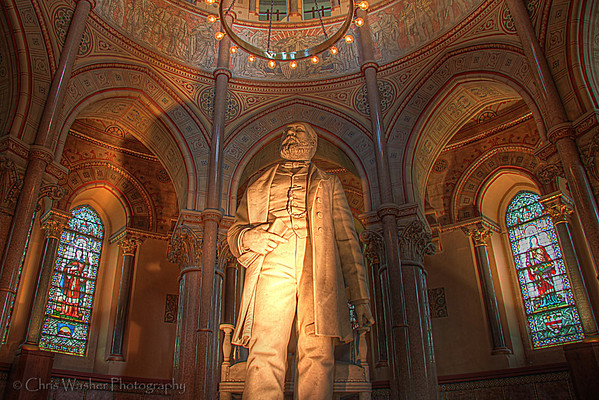 The Garfield Monument - Lakeview Cemetery
