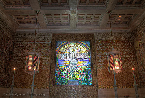 Wade Chapel Tiffany Window - Lake View Cemetery - Cleveland Ohio