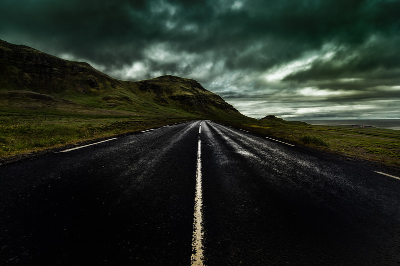 Travel Through Iceland