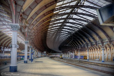 York Station, York, England