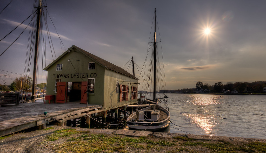 Thomas Oyster Company, Mystic, Connecticut