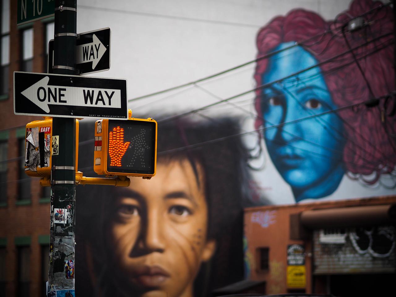 Hyperrealistic Mural - Williamsburg, Brooklyn - June 2015