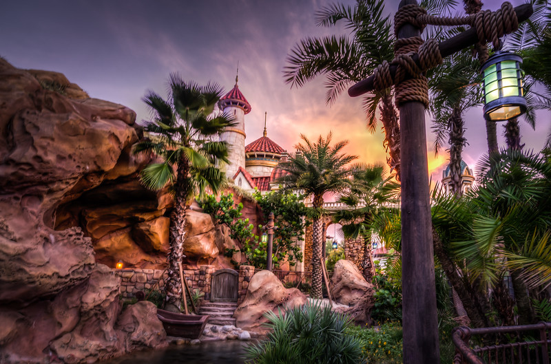 Little Mermaid - Capturing Landscape Photos at Disney, Florida