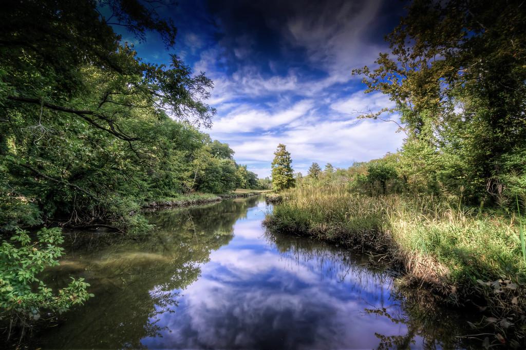 River on Teddy Roosevelt Island, Washington DC