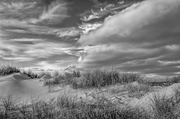 Sand Dunes-B&W Edit