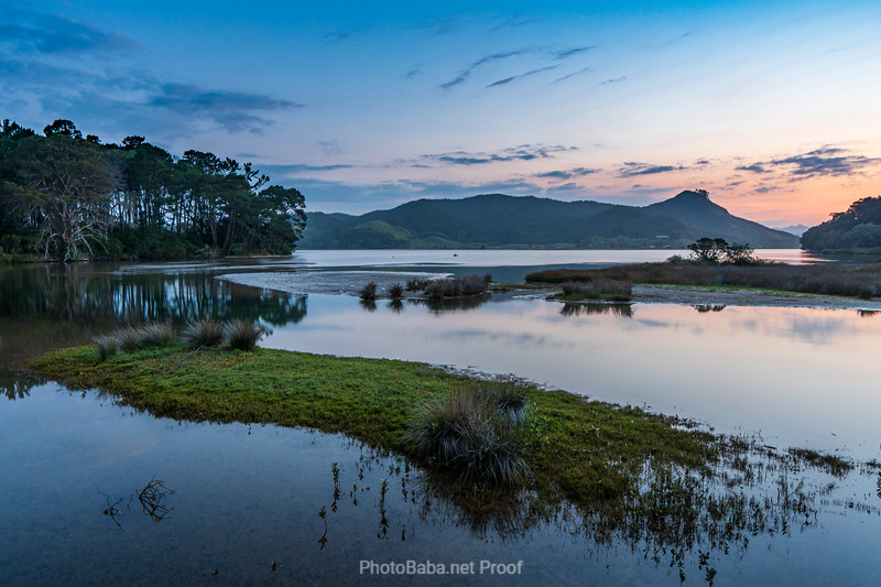 The Blue Hour in Opoutere Estuary
