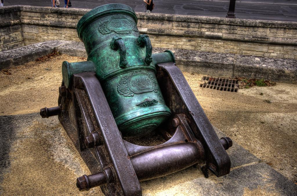 Cannon at the Musée de l'Armée (Museum of the Army), Paris