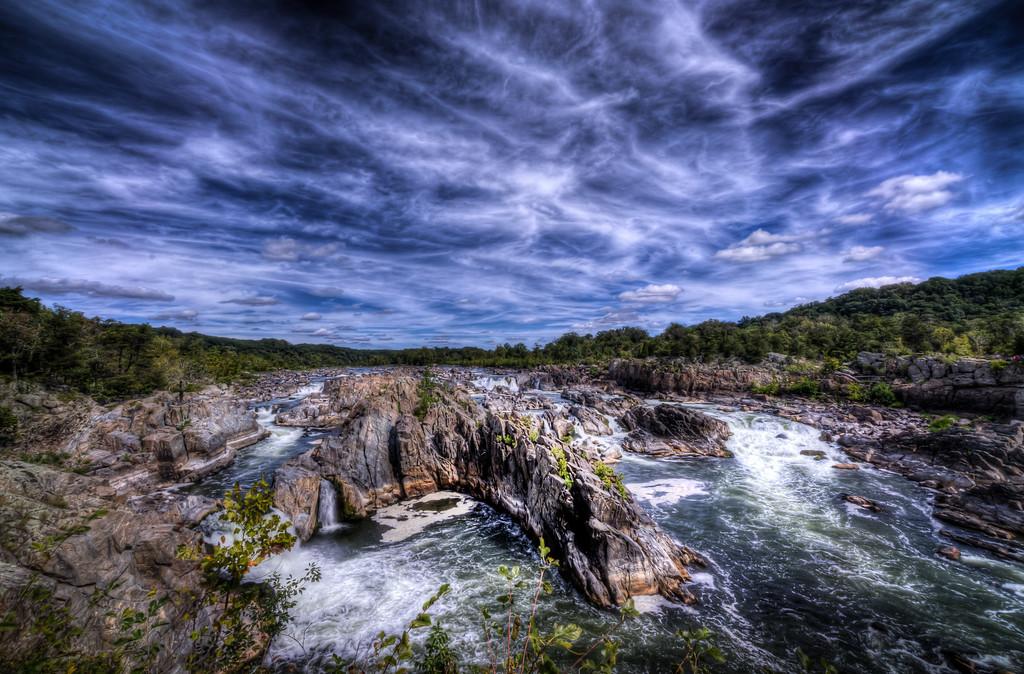 The Great Falls at Great Falls National Park, Virginia, September 2014