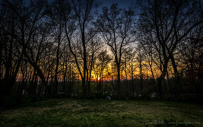 Julian Court Sunset, Greenbelt, Maryland