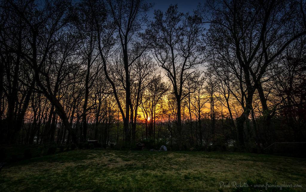 Julian Court Sunset, Greenbelt, Maryland