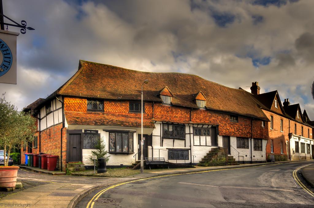 Midhurst Public Library, Midhurst, Sussex