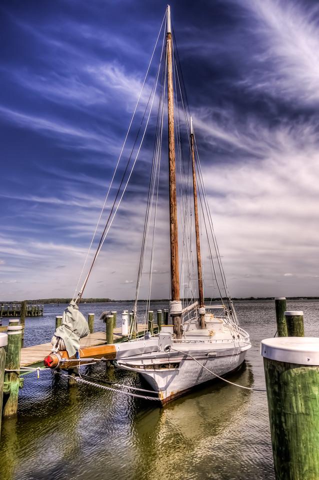 Edna E. Lockwood, Chesapeake Bay Maritime Museum, St Mary's, MD