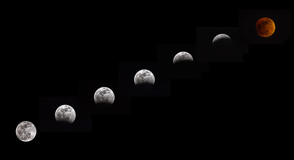 Lunar Eclipse Blue Ridge Jan 2019-2